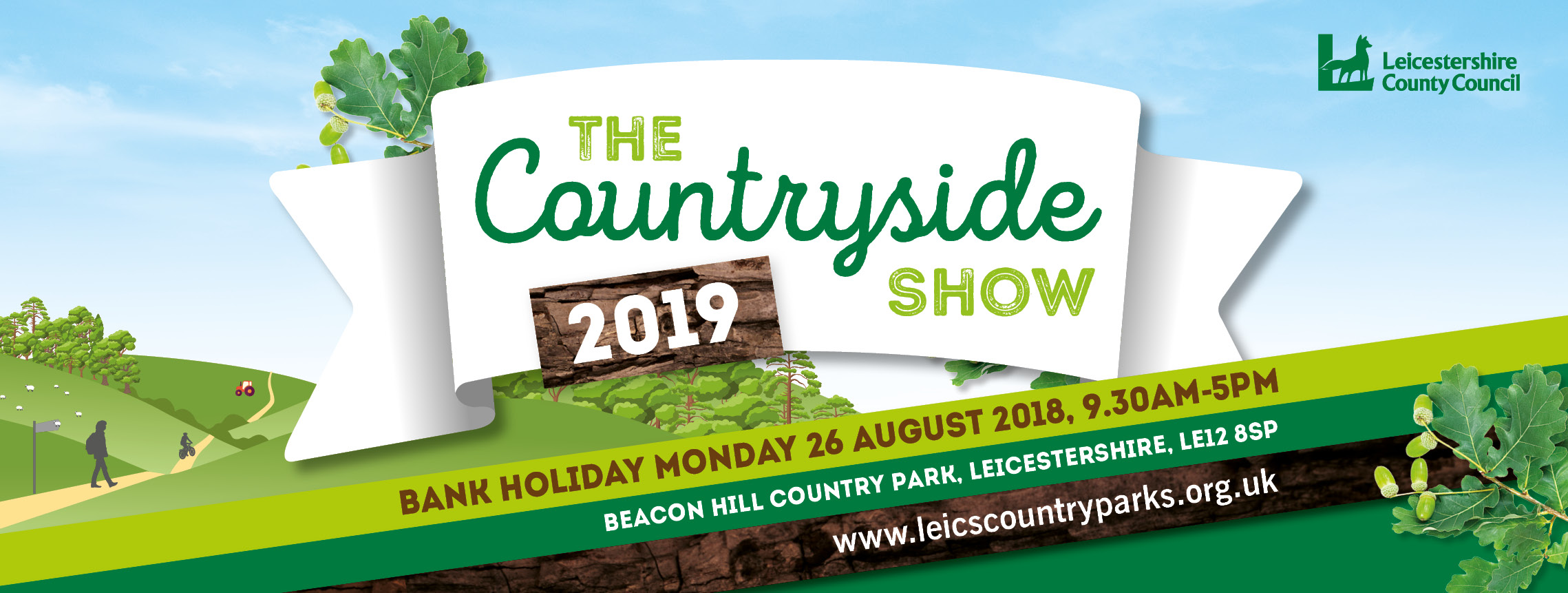 Countryside Show banner